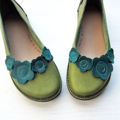 Leather Handmade Vintage Inspired Womens Shoes, PETAL by Fairysteps Shoes on etsy.