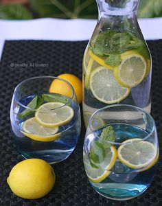 One thing that I like about myself is that I could stop drinking juice and soda whenever I want to. Since one of my mid-year resolution is to drink more water, I'd like to do a series of naturally-flavored water or infused water here at my kitchen. These are quick, easy and healthy alternative to...Read More »