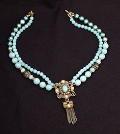 PRINCESS ALIX Vintage Jewelry Repurposed Pearl by carlafoxdesign