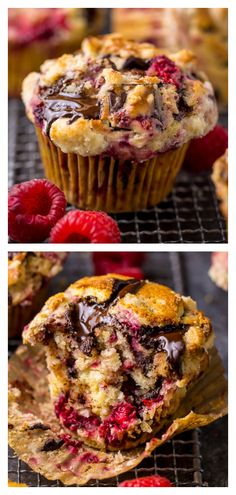 Dark Chocolate Chunk Raspberry Crumb Muffins - Baker by Nature - - Mmm. these Dark Chocolate Chunk Raspberry Crumb Muffins are so easy and delicious! Perfect for breakfast or brunch. Chip Cookie Recipe, Cookie Recipes, Dessert Recipes, Tea Recipes, Recipies, Levain Bakery, Raspberry Muffins, Raspberry Recipes, Chocolate Chunk Cookies