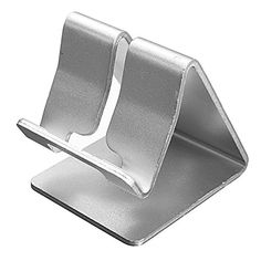 Silver Universal Aluminium Alloy Stand Holder for iPhone iPod Galay Note 3 Mobile Phone Shops, Mobile Stand, Tablet Holder, Ipad Stand, Aluminum Metal, Aluminium Alloy, Iphone 5s, Computer Accessories, Silver Color