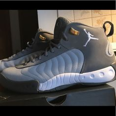 promo code e95df ac6e3 Jordan Shoes   Jordan Jumpman Pro (Wolf Grey)   Color  Gray   Size  10.5