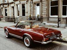 Used Mercedes-benz 280 Convertible in Edinburgh City Of Edinburgh Derek C Mowat Used Mercedes Benz, Classic Mercedes, Pretty Cars, Cute Cars, Classy Cars, Sexy Cars, Old Vintage Cars, Mercedez Benz, Old Classic Cars