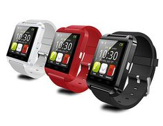 Plus Watch Smart ∞ U Watch Bluetooth Smartphone for IPhone ๏ Samsung Android Phone Smartphone New! Plus Watch Smart U Watch Bluetooth Smartphone for IPhone Samsung Android Phone Smartphone Android Wear, Android Watch, Smartwatch Iphone, Ios Iphone, Wrist Watch Phone, Watch For Iphone, Wearable Device, Wearable Technology, Smartwatch