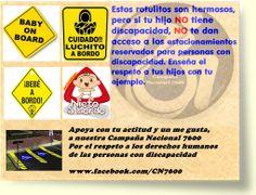 estacionamiento reservado www.facebook.com/CN7600