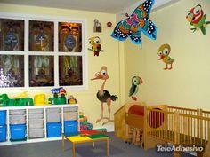 Kinderzimmer Wandtattoo Parrot