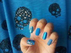 Tutorial nail art tecnica mista + foil - Nail Art Felice by Sophia