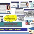 Multi-Leveled: GEORGE ORWELL Constructed Response Practice & Word Work RI8.10. Students will love this 16-page full-color constructed response writing practice which uses the RACE stategy to develop the topic with relevant fac...