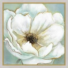 30-In W X 30-In H Framed Floral Print Wall Art 1607-8207Low