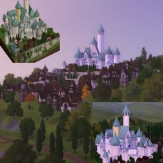 Disney's Tangled - Corona Castle (v1.0) by Willyman - The Exchange - Community - The Sims 3