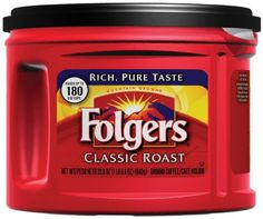 Folgers Classic Roast Ground Coffee, Medium-Roast, Ounce (Pack of The world's richest and most aromatic medium-roast finely ground coffee made with Mountain Grown pure coffee. Coffee Pods, Coffee Cafe, Coffee Drinks, Folgers Coffee, Taste Made, Coffee Accessories, Emergency Preparation, 6 Pack, Coffee Filters
