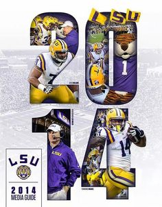 2014 LSU TIGERS Lsu Tigers Football College Louisiana State University Sports