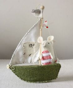 -DIY Uber Cute Little Mice (Pattern And Instructions)2
