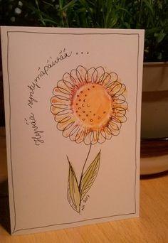 Kukka-synttrikortti