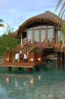 Honeymoon in Bora Bora! For our future honeymoon and vow renewal/wedding we didn't get to have.
