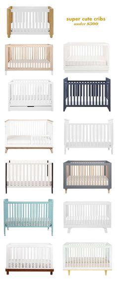 really cute cribs under 500 dollars