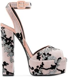 e02e6ffce50 Pink Velvet Betty Sandals With Platform. Your Next Shoes · Celebrities  Wearing Giuseppe Zanotti Shoes