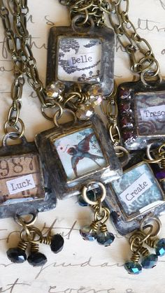 Loved everything about this website and the jewelry she makes.  I wish there was a flea market around here where I could find these interesting treasures in order to make my own pieces.