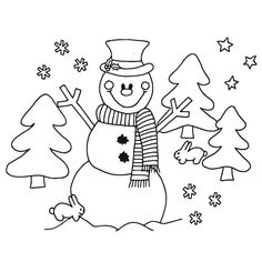 Risultati immagini per pracovní listy zima Colouring Pics, Coloring Book Pages, Quilling Techniques, Nursery School, Poinsettia, Christmas Diy, Snowman, Snoopy, Education