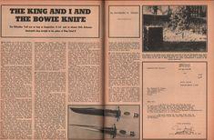 Jim Bowie The Knife The King Of Iraq Sought To Buy+Brigadier Jamil,King Faisal,  | eBay