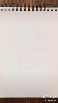 Art Drawings Sketches Simple, Pencil Art Drawings, Realistic Drawings, Drawing Techniques, Drawing Tips, Eyelashes Drawing, Art Painting Gallery, Art Corner, Diy Canvas Art