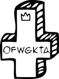 ofwgkta Music Tattoos, Cool Tattoos, Awesome Tattoos, Odd Future Wolf Gang, Earl Sweatshirt, Demon Art, Curious Cat, Colorful Artwork, Tattoo Ideas