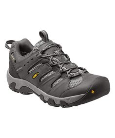 Look at this KEEN Magnet & Gargoyle Koven Waterproof Leather Hiking Shoe - Men on #zulily today!