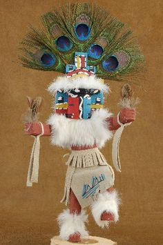 The Hemis Kachina Doll represents happiness of a successful harvest.