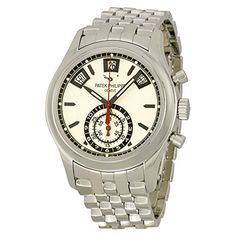 c47812c6dd All New Luxury Watches Catalog  Patek Philippe Grand Complications  Chronograph Silver Dial Stainless Steel Mens Watch