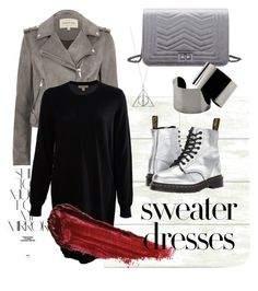 A fashion look from October 2017 featuring long sleeve dress, moto jacket and slip resistant shoes. Browse and shop related looks. River Island, Burberry, Rock, Shoe Bag, Magnolia, Polyvore, Sweaters, Shopping, Collection