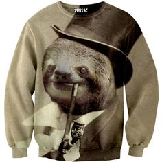 Old Money Sloth Sweater | 20 Sweatshirts You Need In Your Life Immediately