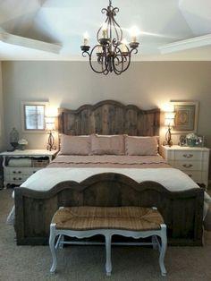 Awesome Rustic Farmhouse Bedroom Decor Ideas