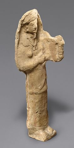 Terracotta musician Period: Cypro-Archaic II Date: ca. 600–480 B.C. Culture: Cypriot Medium: Terracotta; mold-made