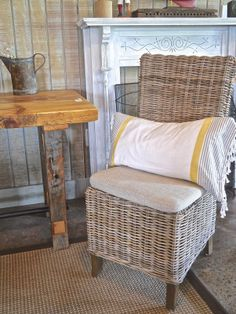 Parson's Chair with Cushion Seat