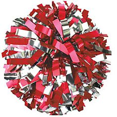 Our in-stock youth metallic cheerleading poms are ready to ship with no minimums. These youth cheer poms are sold individually, not in pairsand are available in two color mixes of ten metallic colors with silver metallic streamers. Cheerleading Pom Poms, Youth Cheerleading, Cheer Pom Poms, Cheerleading Uniforms, Cheerleading Bedroom, Cheer Uniforms, Volleyball Team, Gymnastics, Vampire Barbie