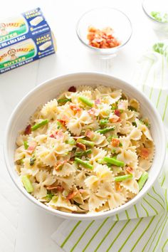 Brown butter, bacon and loads of farm-fresh asparagus make this springtime pasta irresistible.