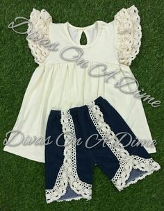 Precious outfit for spring and summer, and the top can easily transition into fall!