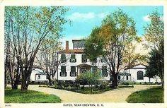 Edenton North Carolina NC 1920s Hayes Plantation House Antique Vintage Postcard