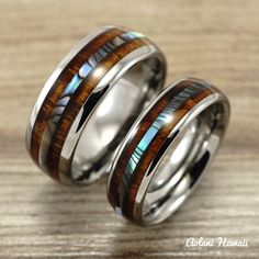 Hey, I found this really awesome Etsy listing at https://www.etsy.com/listing/229927907/new-tungsten-wedding-band-set-with