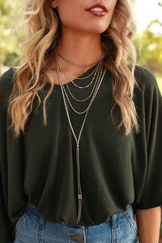 Go For The Gold Layered Choker in Grey