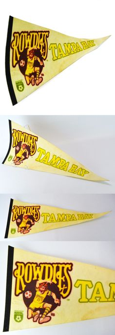 Pennants Flags 50128: Tampa Bay Rowdies Florida Fl Vintage Old #15 Ross Soccer Wall Pennant Nasl -> BUY IT NOW ONLY: $39.87 on eBay!