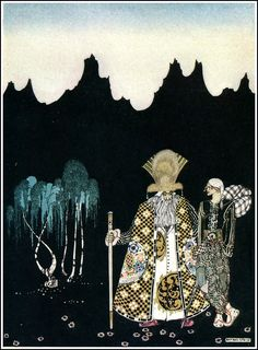 çizgili masallar: East of the Sun and West of the Moon by Kay Nielsen
