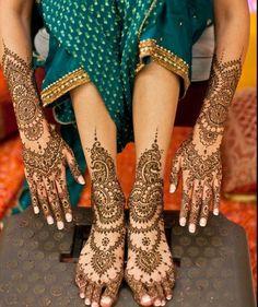 Traditional Henna Body Decoration, India,Mehendi drawings