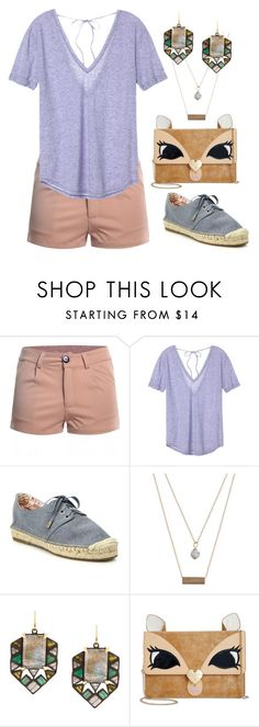"""""""Sem título #39"""" by calliope-262 ❤ liked on Polyvore featuring Victoria's Secret, Joie, A Weathered Penny, Nak Armstrong and Betsey Johnson"""