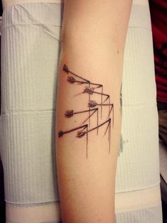 Modest Mouse tattoo