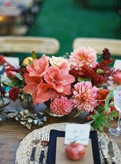 Elegant San Ysidro Ranch Wedding | Unique Colorful Wedding Ideas
