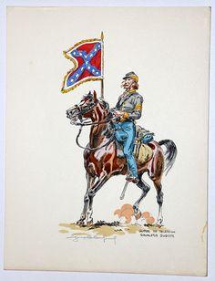 Guerre de Secession Sudiste