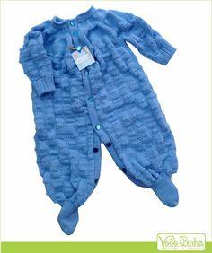 Macaquinho trico bebê | VoVó Binha | Elo7