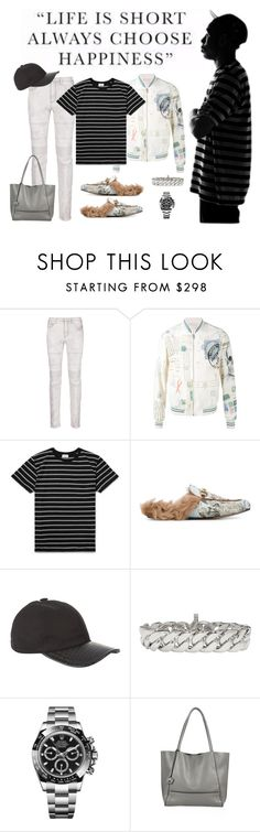 """""""Guess I forgot what I had to do to fit in. And Idc."""" by lucas-lucas-c ❤ liked on Polyvore featuring Neil Barrett, Alexander McQueen, Yves Saint Laurent, Gucci, Stefano Ricci, Tom Wood, Rolex, Botkier, men's fashion and menswear"""