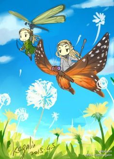 Tales of Mirwood - Flying with Ada (WHY AREN'T THERE ADORABLE MASSIVE BUTTERFLIES LIKE THAT?)